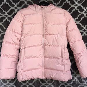 Gap Kids Girl Pink Puffer Jacket XXL 13 14 luxe